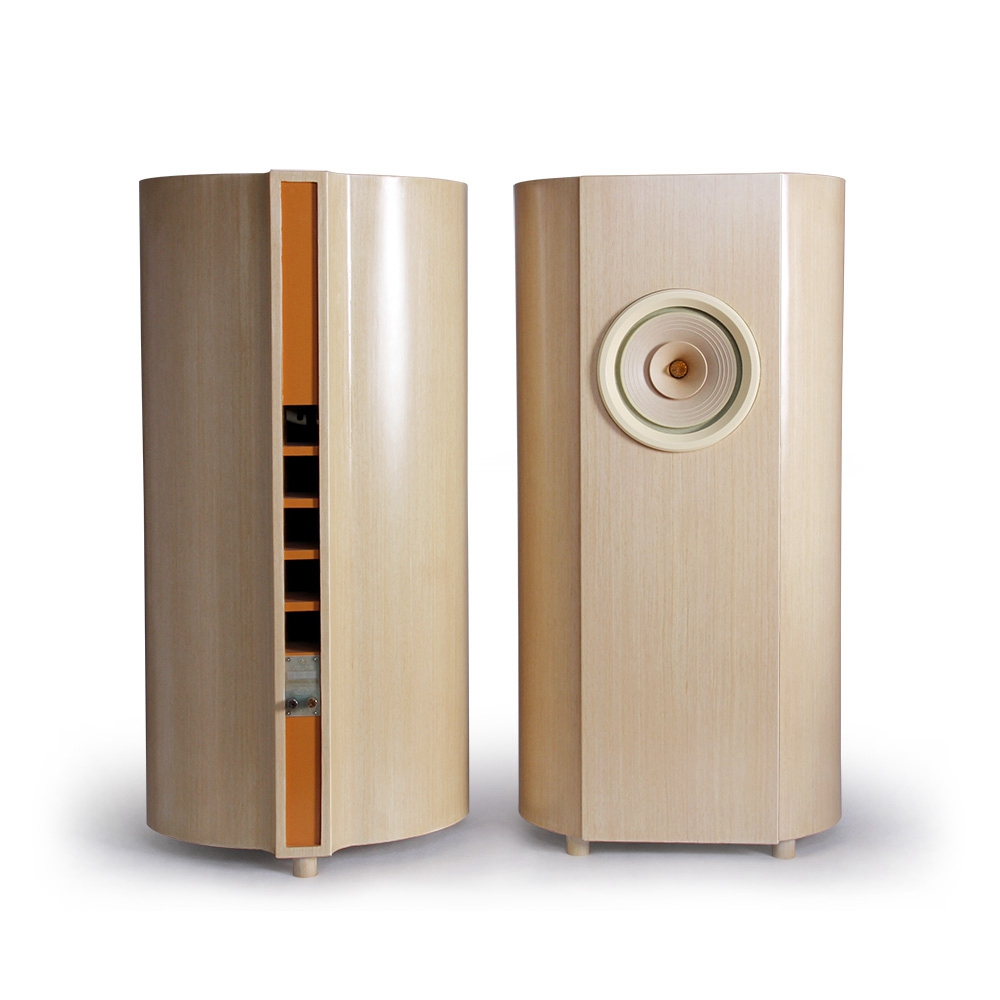 Pair of Crytal-10 Full Range Drivers (Flagship Driver) and Cabinets -  Complete Official Speakers